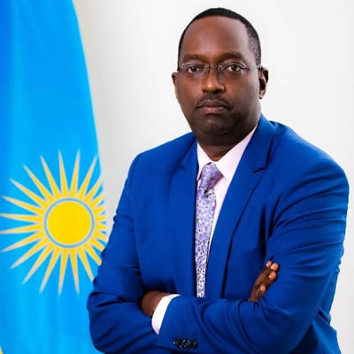 Hon. Dr. Daniel Ngamije, Minister of Health, Republic of Rwanda
