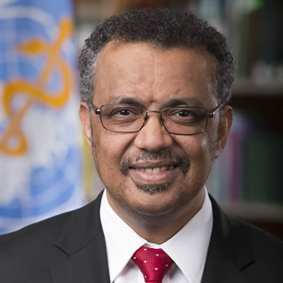 Dr Tedros Adhanom Ghebreyesus WHO Director-General